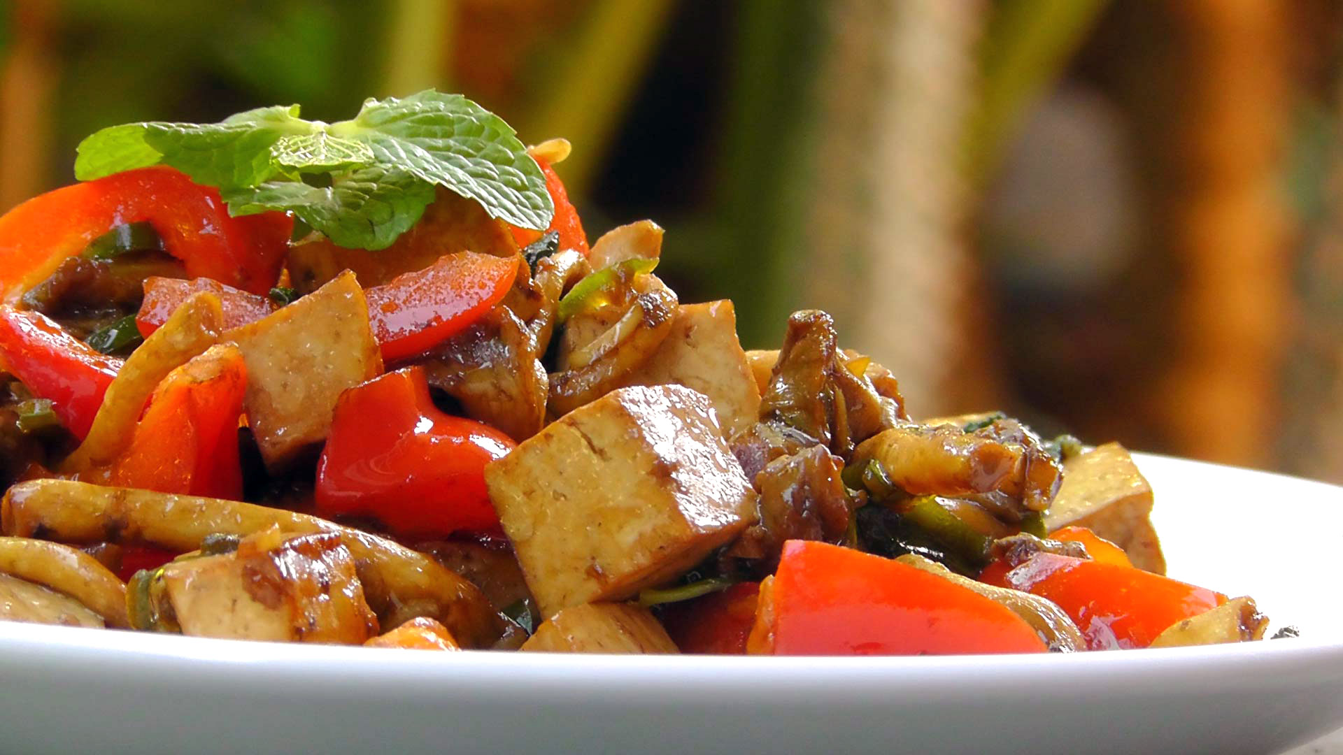 vegan-vegetarian-thai-recipe-tofu-mushroom-mint