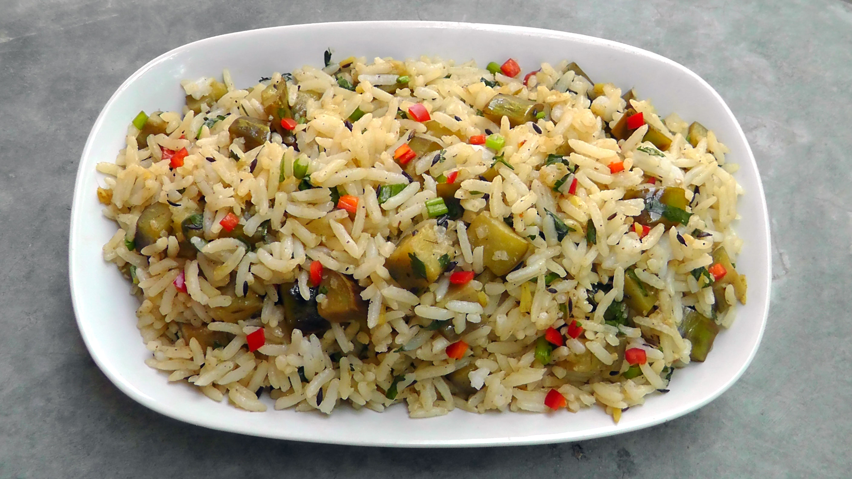 chinese-eggplant-rice-vegetarian
