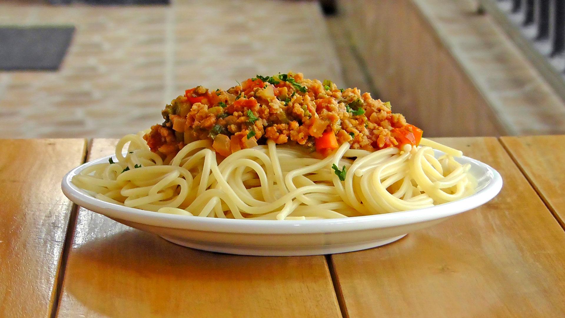 Italian Pasta Ragu Alla Bolognese International Vegan